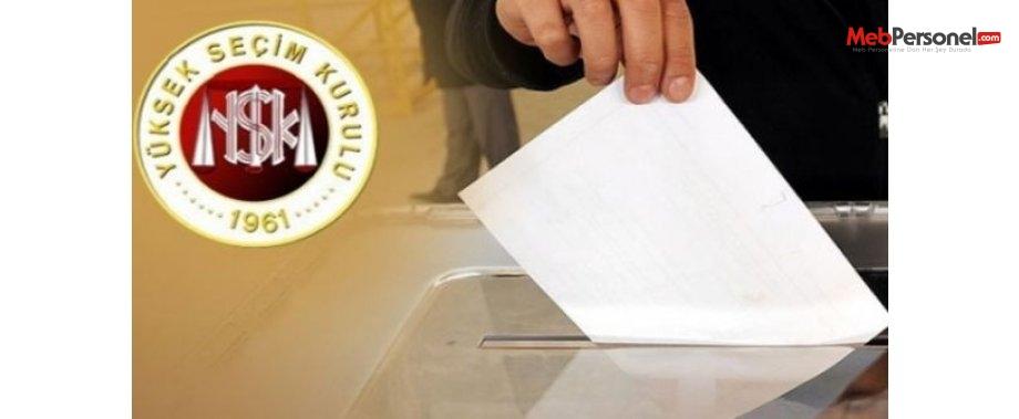 Nerede oy kullanacağım - 1 Kasım 2015
