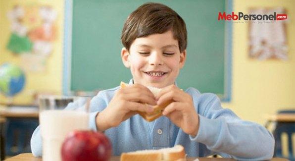Okullarda doğru beslenme yöntemleri anlatılacak