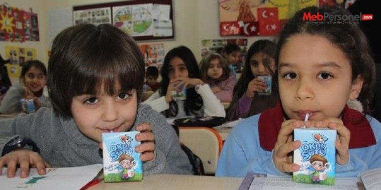 Suriyeli öğrencilere de okul sütü dagıtılacak