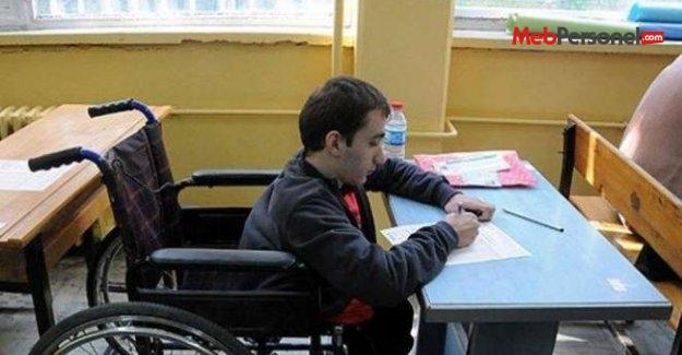 Üniversitede Engelli Öğrenci Oranı 10 Binde 23