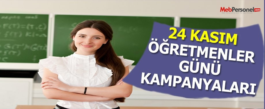24 Kasım Öğretmenler Günü Müjdeleri
