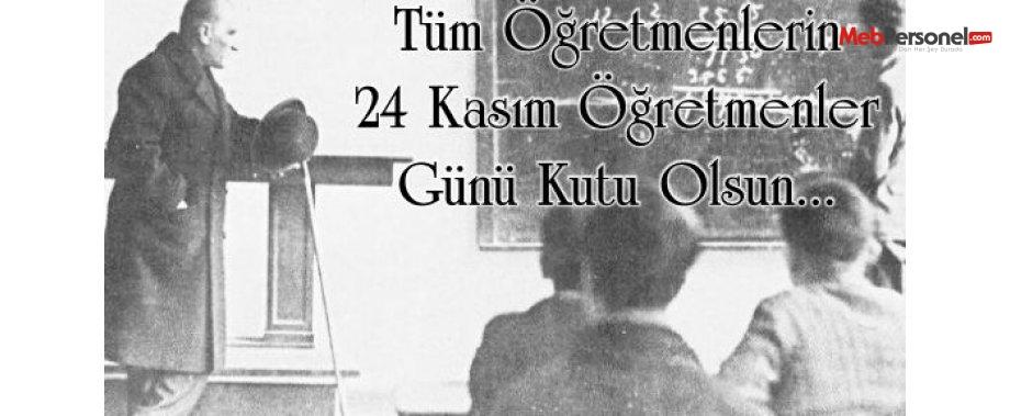 24 Kasım Öğretmenler Günü Şiirleri- Anlamlı