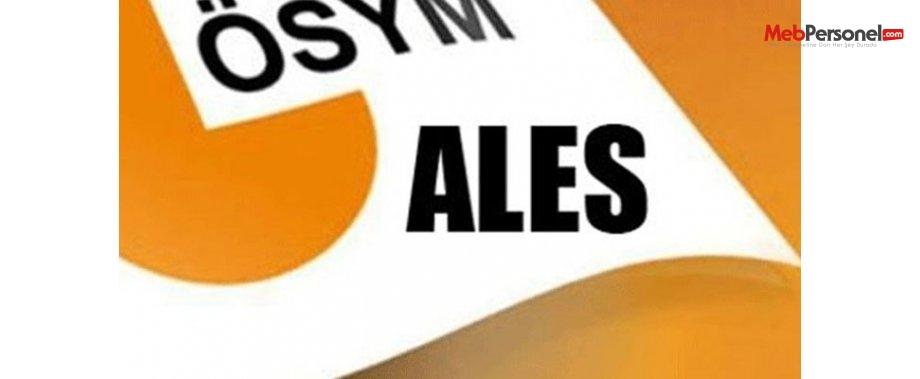ALES Sınav Soruları(Sonbahar 2015- ÖSYM)