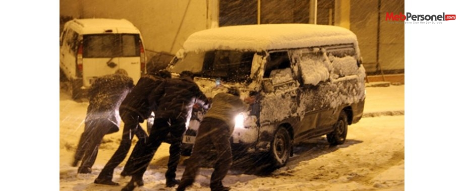 Ardahan'da 47 köy okulu ulaşıma kapandı