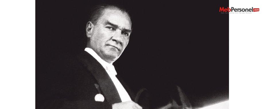 Atatürk'ü Anma Haftası  | Tören - Program Örnekleri(Şiir, Şarkı,Mesaj)