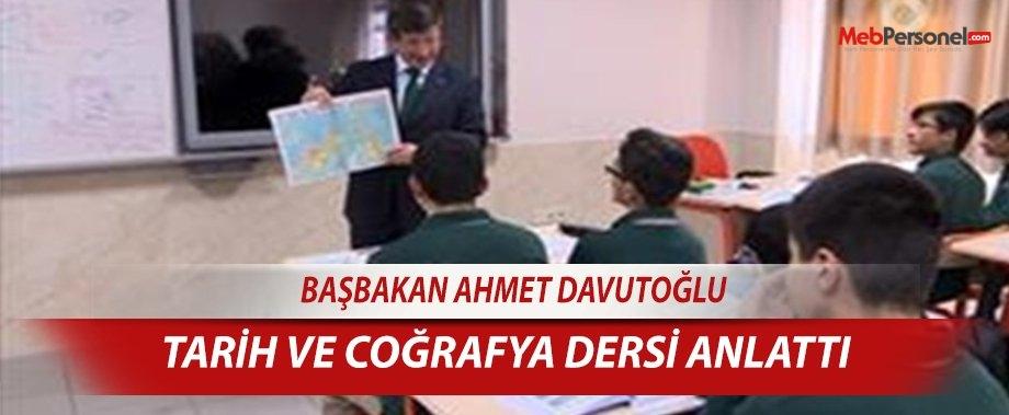 Başbakan'dan coğrafya ve Türkçe dersi