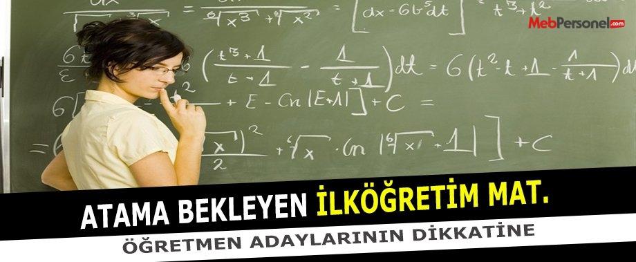 İlköğretim Matematik Öğretmenliği Branş Kontenjan Analizi İçin Bize Yazın