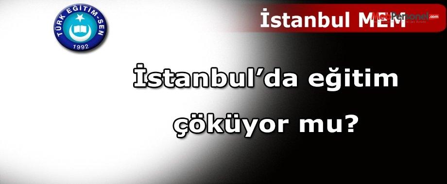 İstanbul'da Eğitim Çöküyor Mu?