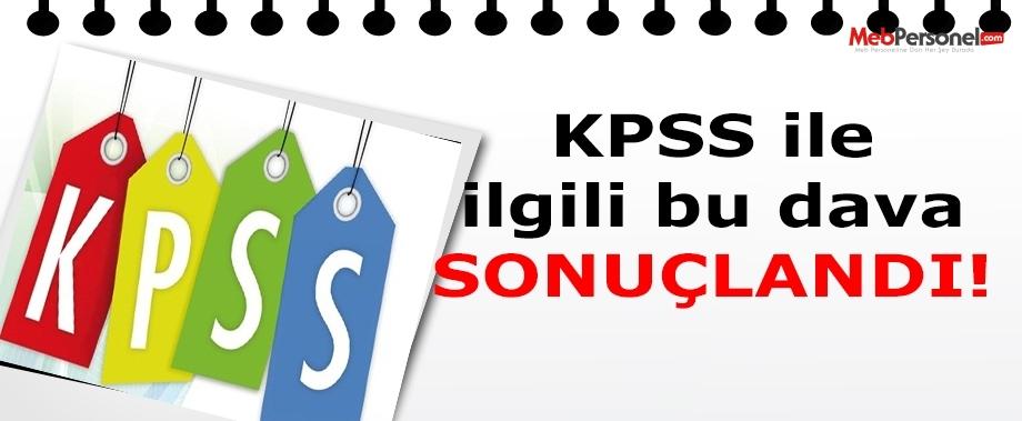 KPSS'deki yabancı dil özel koşulu kaldırılsın davası sonuçlandı