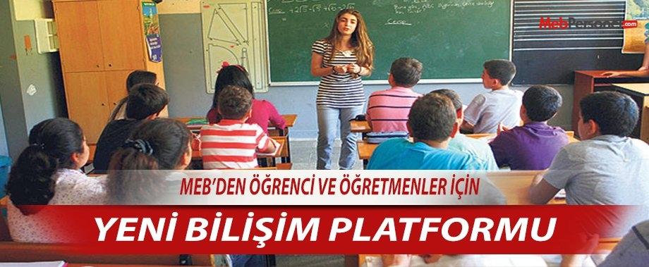 MEB'den Öğrenci ve Öğretmenler İçin Yeni Bilişim Platformu