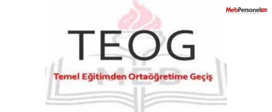 TEOG Sınav Soruları ve Cevapları Açıklandı (25-26 Kasım MEB)