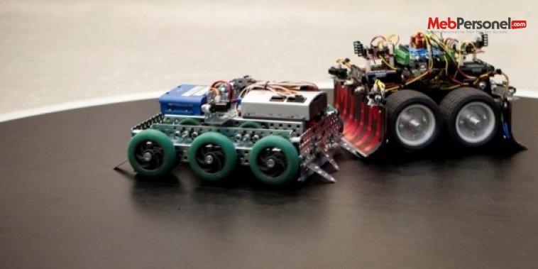 10. robot yarışması Gaziantep'te