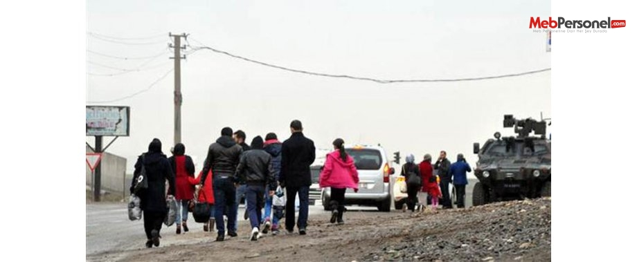 3 bin öğretmen bir SMS'le Cizre ve Silopi'yi terketti