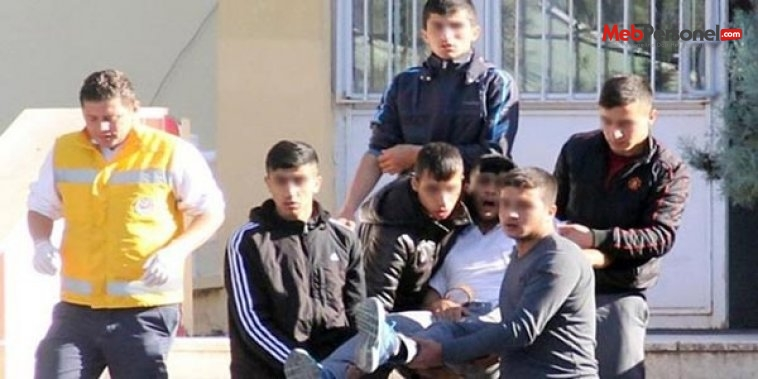 Adana'da lisede pompalı dehşet