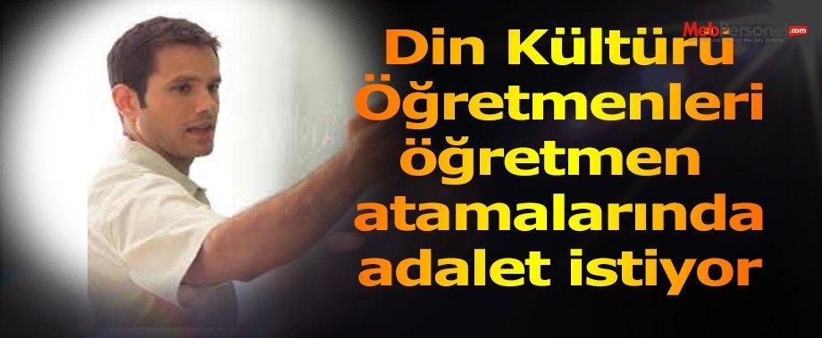 Atama Bekleyen Din Kültürü öğretmenleri Adalet istiyor