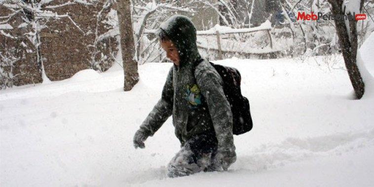 Diyarbakır okullar tatil oldu mu? 31 Aralık Perşembe Diyarbakır kar tatili
