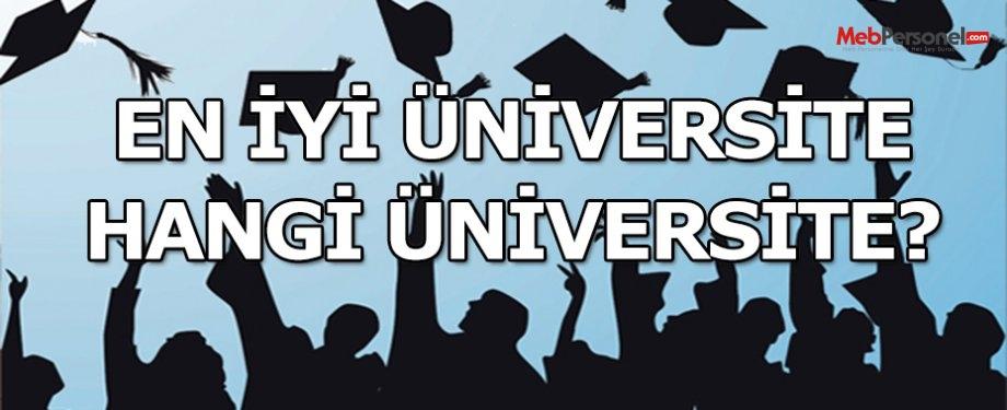 En iyi üniversite hangi üniversite?