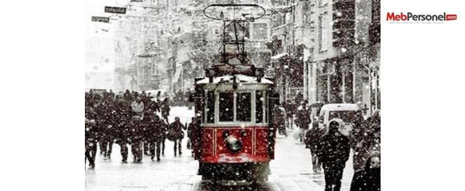 İstanbul'a Kar  Ne Zaman Yağacak? güncel
