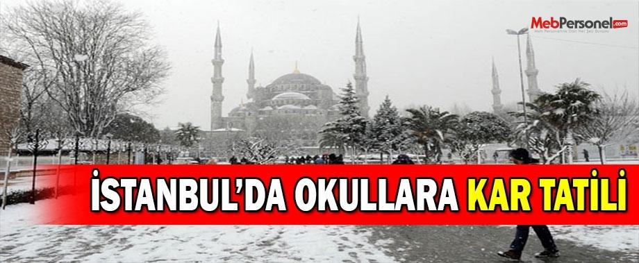 İstanbul'da Okullar Tatil Mi? Valilikten Kar Tatili Açıklaması (31 Aralık Perşembe)