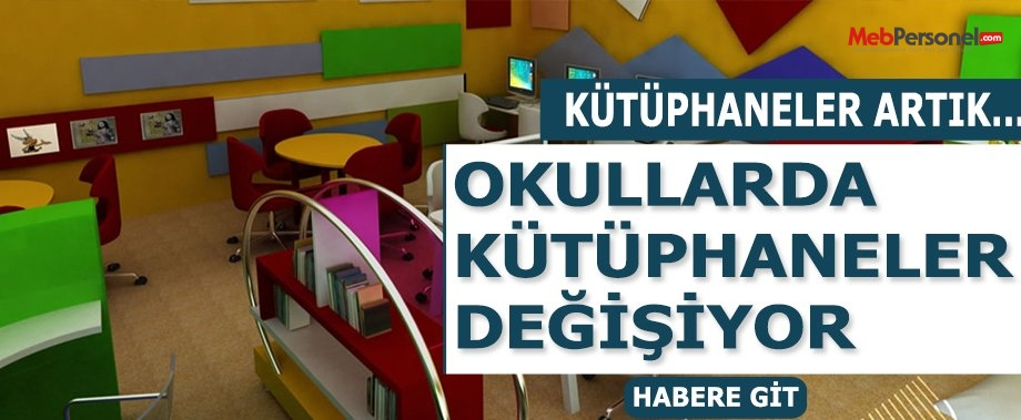 Okullarda klasik kütüphanelerin yerini z-kütüphaneler alıyor