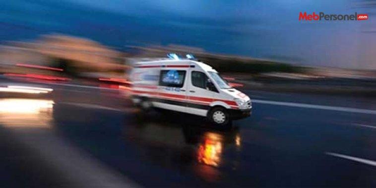Yaralı öğrenci gözyaşları içinde ambulans bekledi