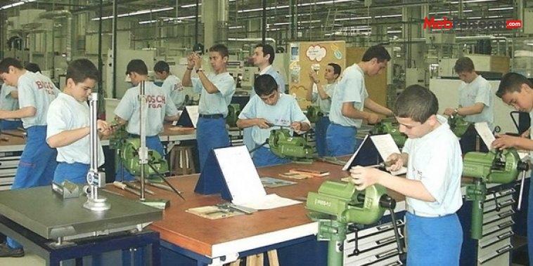 Yoğunlaştırılmış eğitim kapsamında işletmelerde beceri eğitimi uygulaması