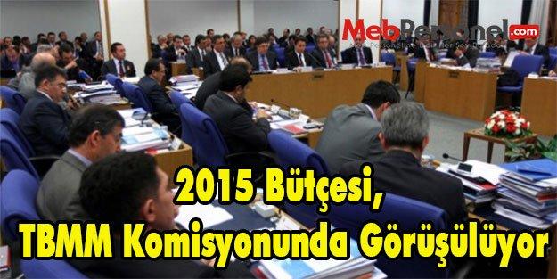 2015 Bütçesi, TBMM Komisyonunda Görüşülüyor
