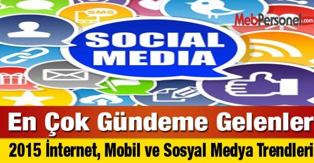 2015 İnternet, Mobil ve Sosyal Medya Trendleri