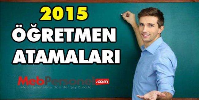 2015 Şubat Öğretmen Atama Kontenjanlarında Son Tahmin