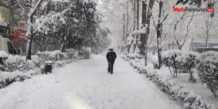 3 ilde hasta ve hamile personele 1 gün kar tatili