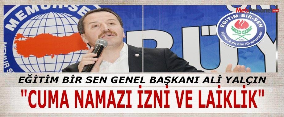 """ALİ YALÇIN'IN KALEMİNDEN """"CUMA NAMAZI İZNİ VE LAİKLİK"""""""