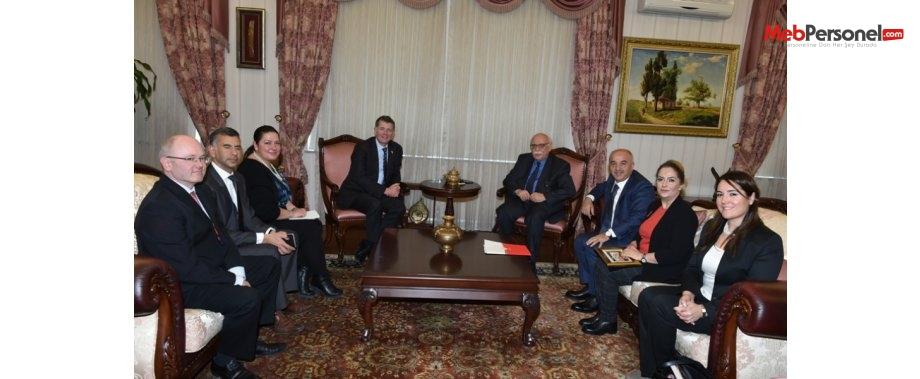 Bakan Avcı, İngiltere'nin Ankara Büyükelçisi Moore'u kabul etti
