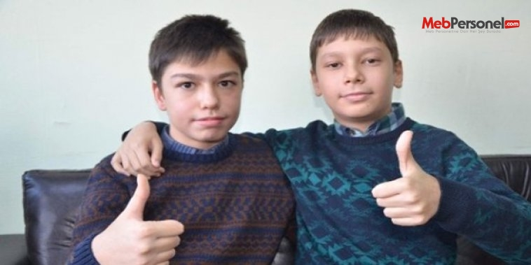 İkizler TEOG'da birinci oldu