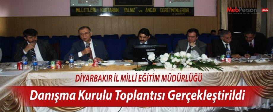 Diyarbakır İl Milli Eğitim Danışma Kurulu Toplantısı Gerçekleştirildi