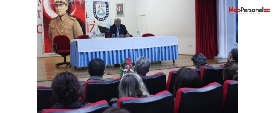 Trabzon İl Milli Eğitim Müdürü, Okul-Aile Birliği Başkanlarına EBA' yı Anlattı