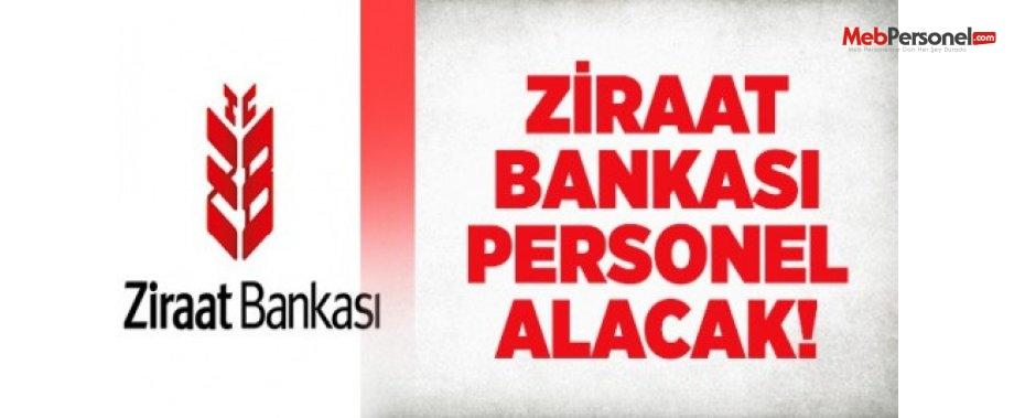 Ziraat Bankası Personel Alım ilanı 2016