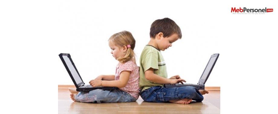 7,5 milyon çocuk internette ne yapıyor?
