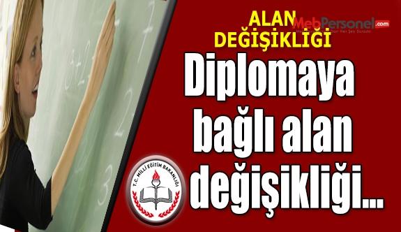 Diplomaya Yönelik (Yönetmeliğe Bağlı) Değişikliği Yapmak