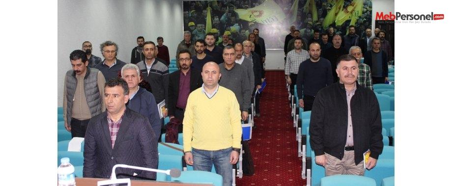 EĞİTİM SEN 9. DÖNEM 8. GENEL MECLİS TOPLANTISI YAPILDI