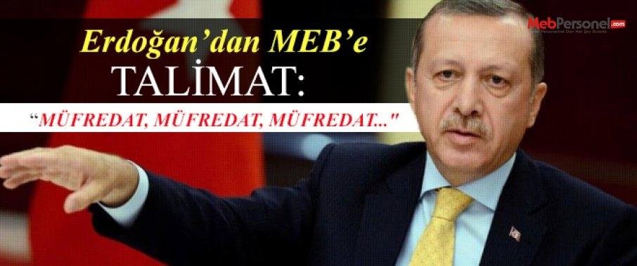 MEB'E Talimat:Müfredat MÜFREDAT müfredat...