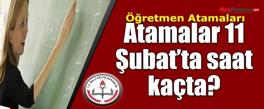 Öğretmen Atama Sonuçları 11 Şubat'ta Açıklanacak