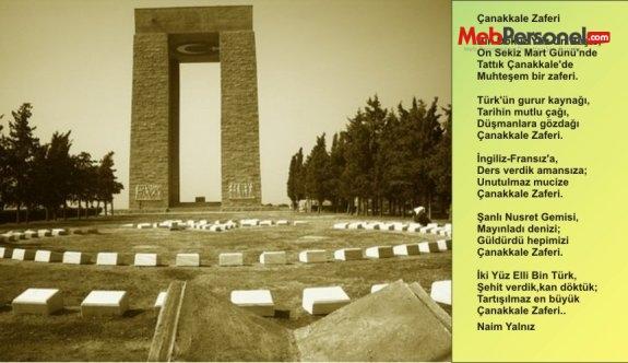 18 Mart Çanakkale Şiirleri