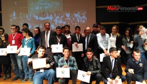 Araştırma Projeleri Yarışması Erzurum Bölge Serisi Ödül Töreni Yapıldı