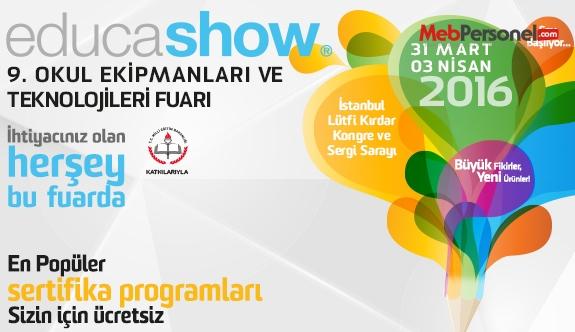 Educashow 9.Okul Ekipmanları Fuarı