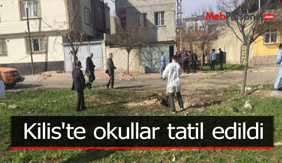 Kilis'te okullar tatil edildi