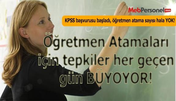 KPSS Başvuruları başladı, öğretmen atamalarından ne haber?