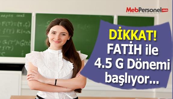 Öğrenci tabletlerinde 4.5 G dönemi