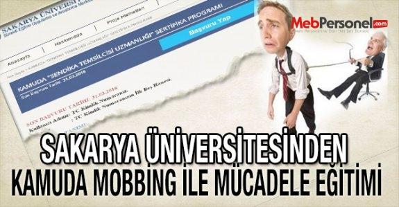 Sakarya Üniversitesinden Kamuda Mobbing İle Mücadele Eğitimi