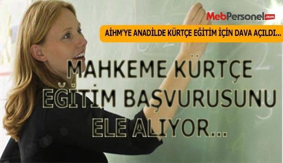 AİHM, Kürtçe eğitim başvurusunu öncelikli olarak ele alacak