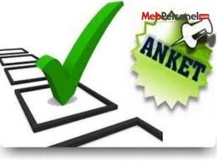 Anket MEB (MEB'in Tüm Anketleri)